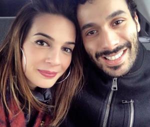 Ornella Fleury et son compagnon Mustapha El Atrassi