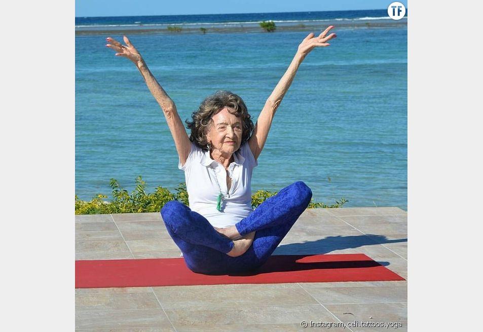 La plus vieille prof de yoga du monde révèle ses 3 secrets du bonheur