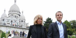 Emmanuel Macron : sa promenade romantique à Montmartre avec sa femme Brigitte Trogneux (photos)