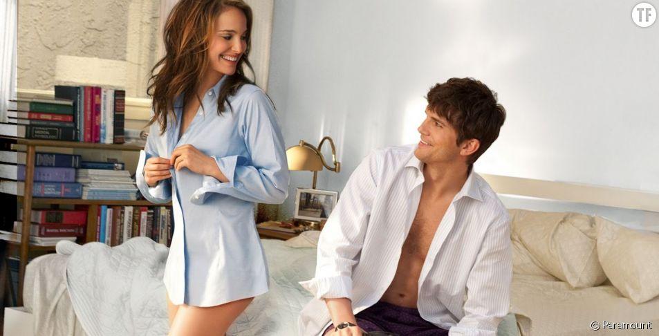 """Natalie Portman et Ashton Kutcher reboutonnent leurs chemises dans """"Sex Friends"""""""