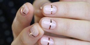 Line nails : enfin une tendance nail art jolie et facile à faire chez soi