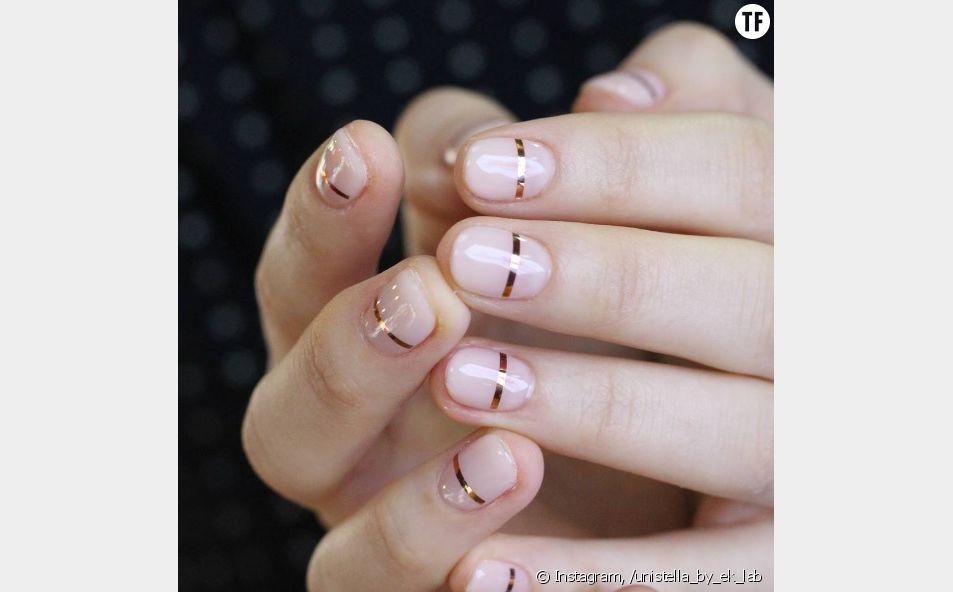 Le line nails : c'est quoi cette nouvelle tendance manucure ?