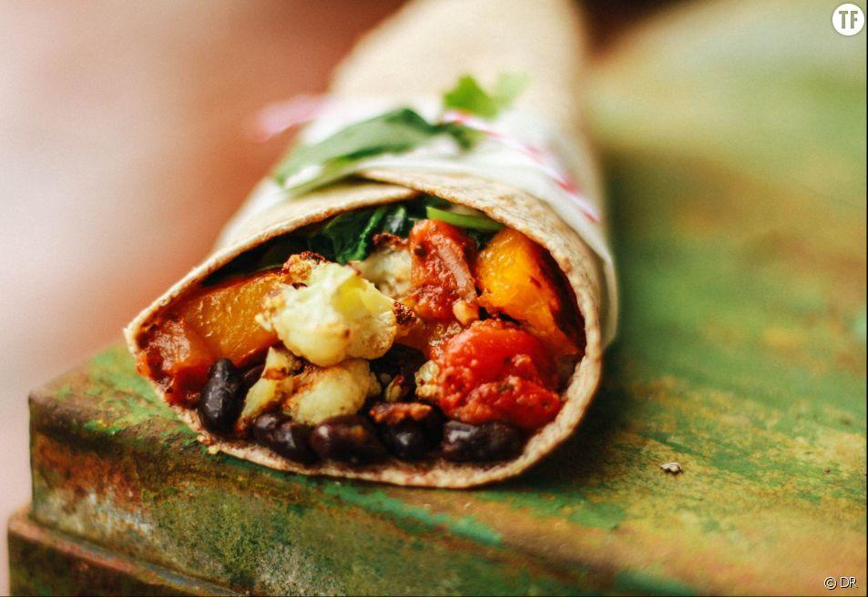 La recette du burrito végétarien