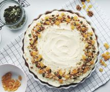La recette du délicieux gâteau vegan à la banane et au caramel