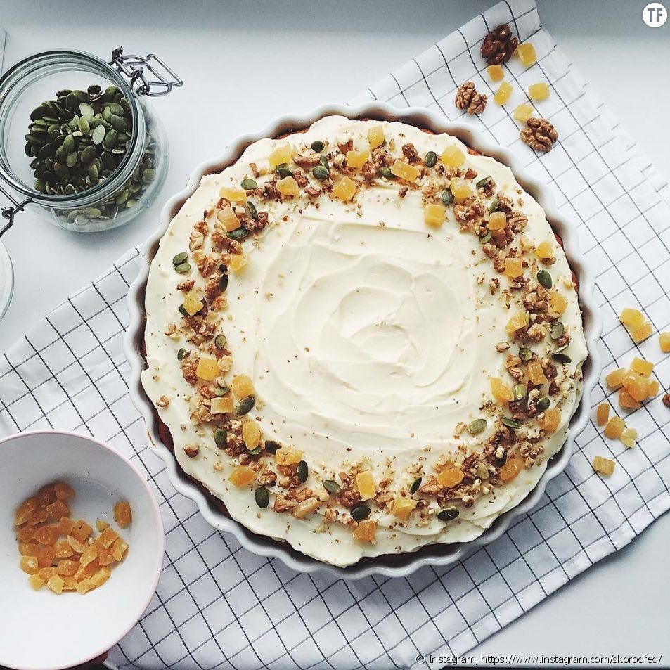 Gâteau vegan banane et caramel : sans cuisson, sans gluten !