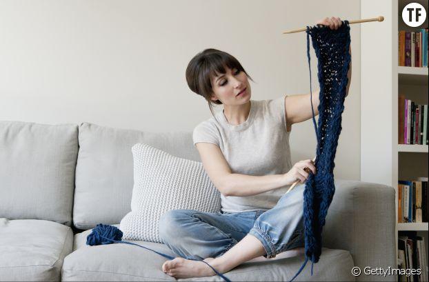 Tricoter pour accéder au sommeil