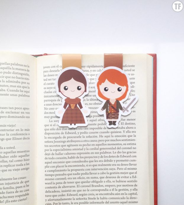Marque-pages Outlander Etsy