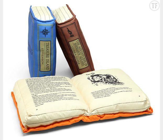 Coussins littéraires Think Geek