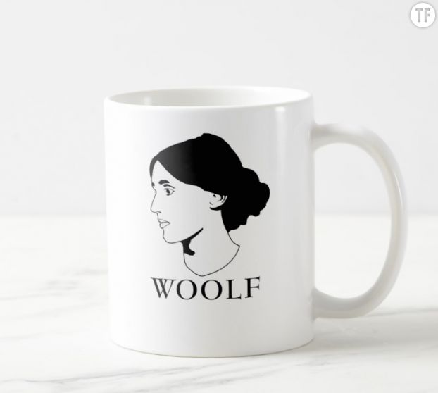 Mug Virginia Woolf sur Zazzle