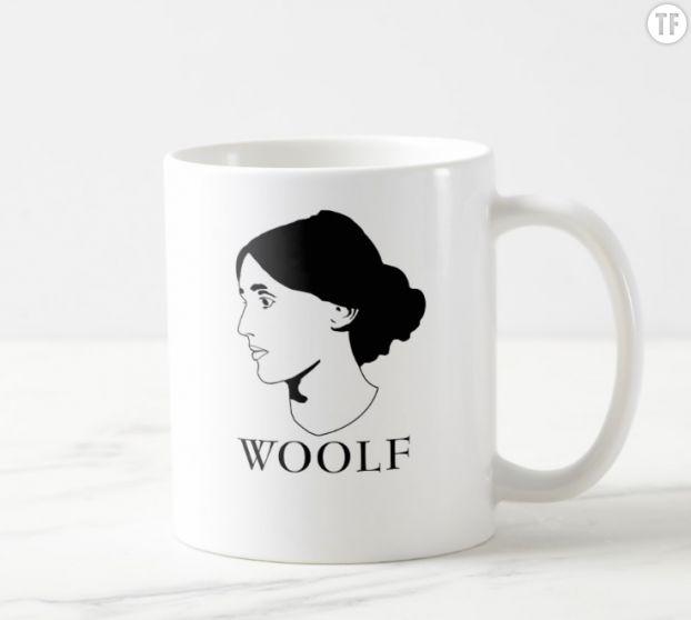 Mug Virginia Woolf sur Zazzle