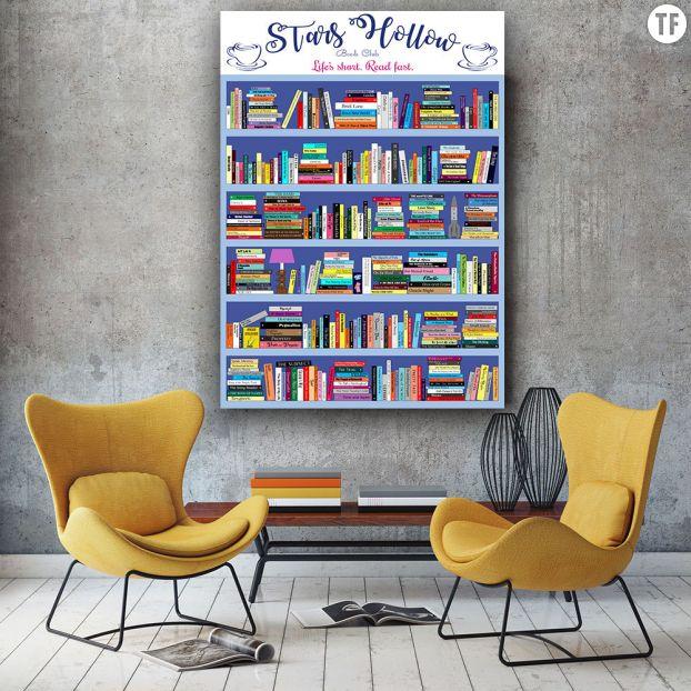 Poster Gilmore Girls sur Etsy