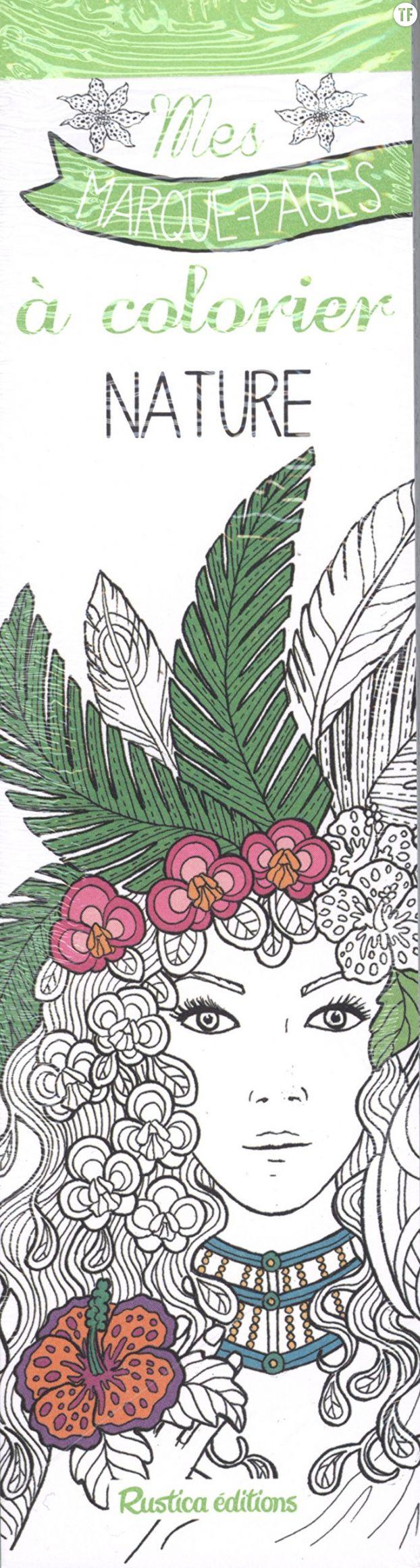 Marque-pages à colorier sur Amazon