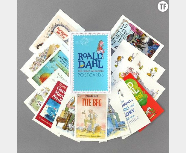 Cartes postales Roald Dahl sur The Literary Gift Company