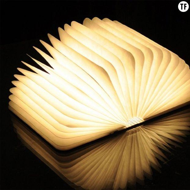 Lampe livre sur Amazon