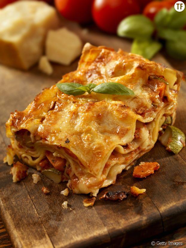 Des lasagnes végétariennes pour un copieux repas de fête... sans viande