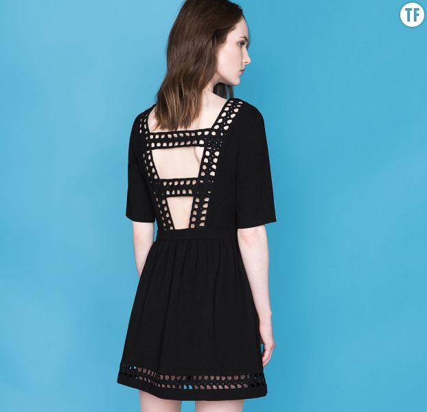 Tenues de soirée Noël 2016 : robe noire Suncoo, 105€