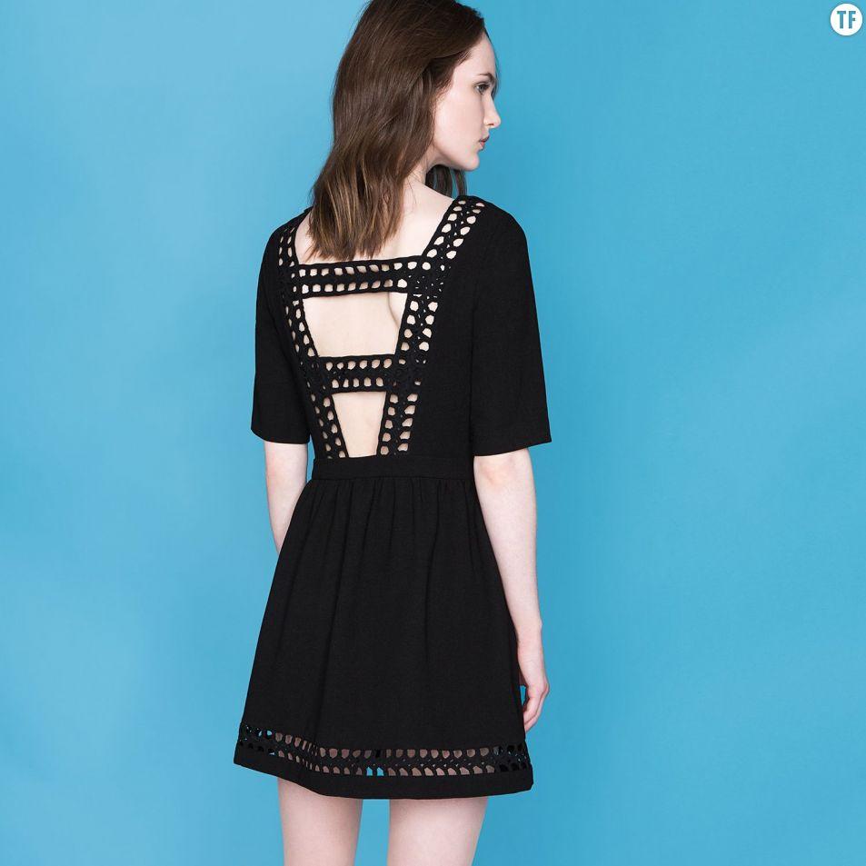 e4fb016fa3c ... 20 tenues de fête pour être la plus stylée. 2Partages. Partager sur  Facebook. Tenues de soirée Noël 2016   robe noire Suncoo