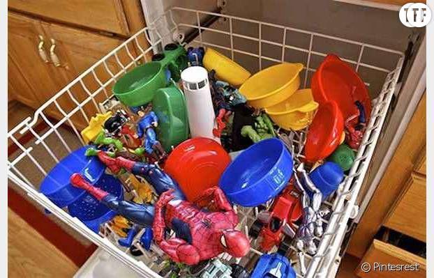 Passer les jouets au lave-vaisselle