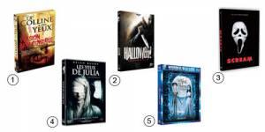 Halloween : Sélection de films  pour se faire peur