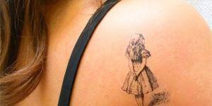15 superbes tatouages inspirés par des livres pour enfants