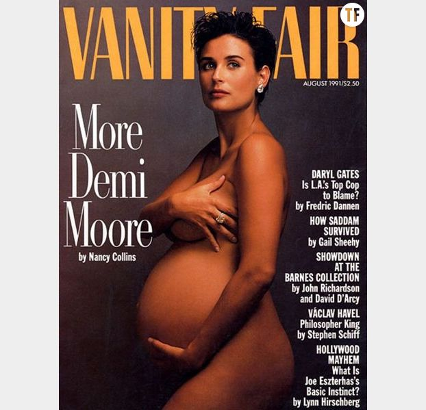 Demi Moore enceinte