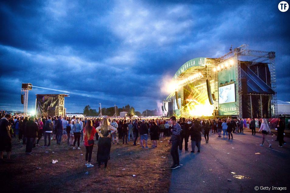 Le festival de Bråvalla en 2016
