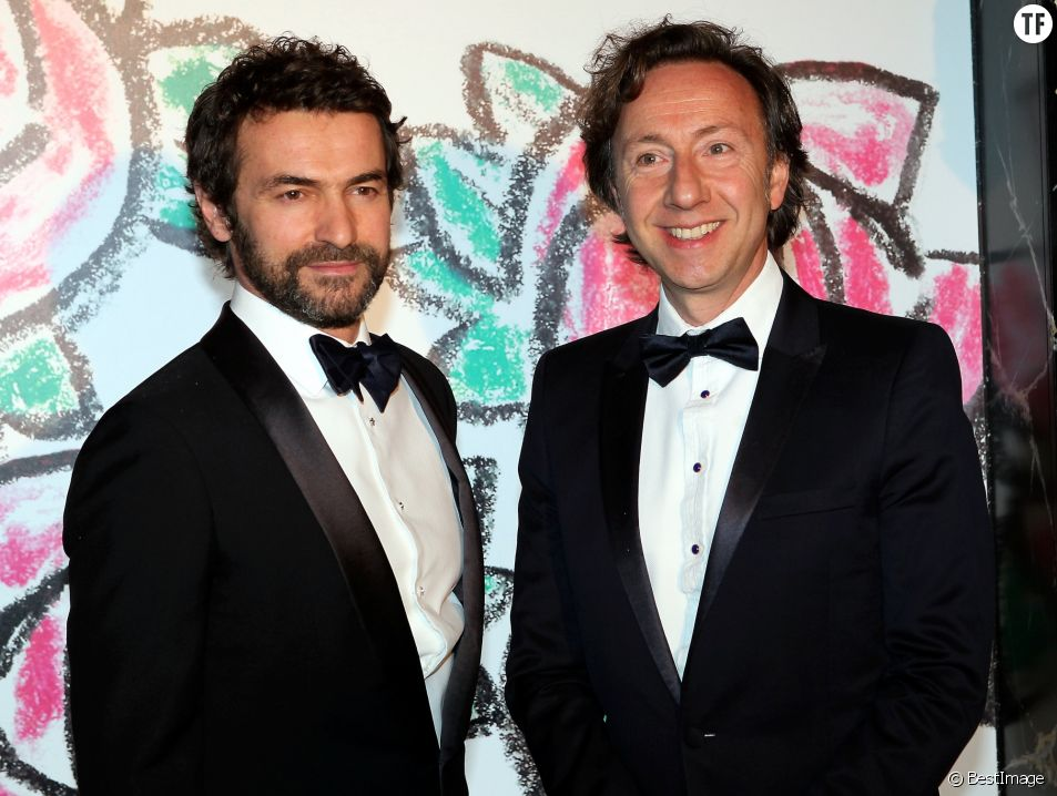 Stéphane Bern et son compagnon Cyril Vergniol en 2015