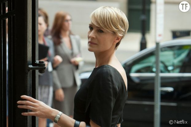 Claire Underwood (Robin Wright) dans House of Cards