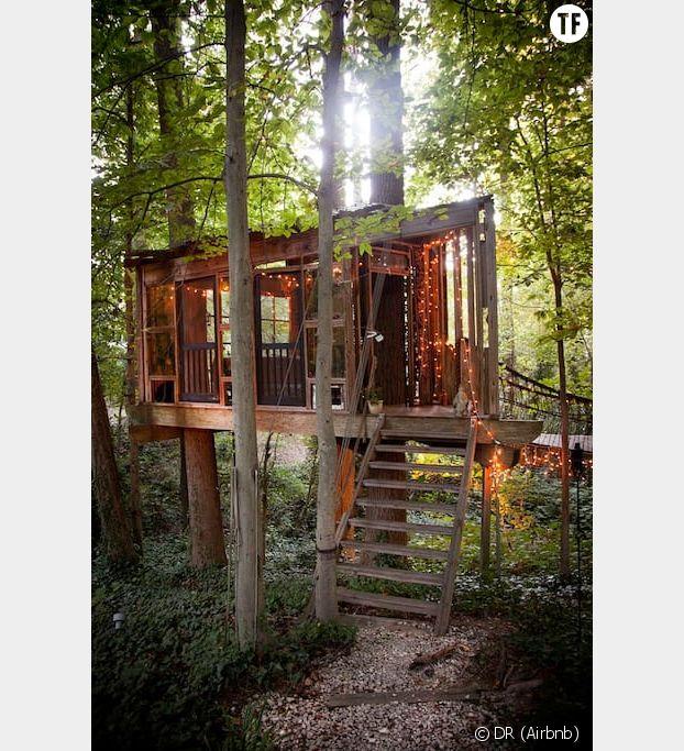 cette maison dans les arbres est le spot le plus demand d. Black Bedroom Furniture Sets. Home Design Ideas