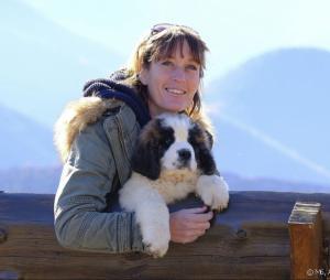 """""""L'amour est dans le pré"""" : Carole, éleveuse de Saint-Bernard en région PACA"""