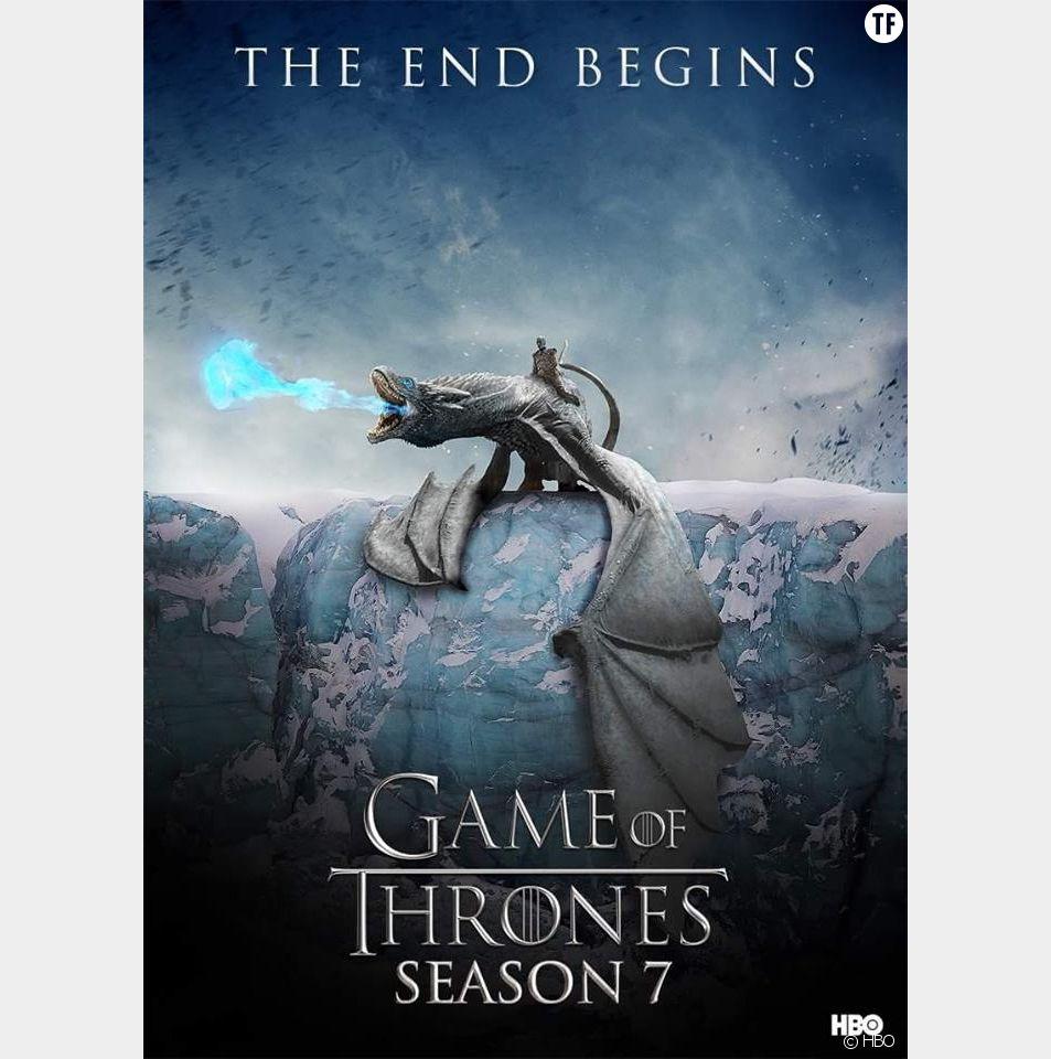 Affiche teaser de Game of Thrones saison 7