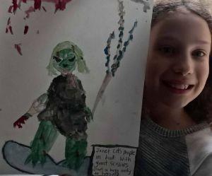 Le dessin super cool de cette petite fille fait le buzz sur Twitter