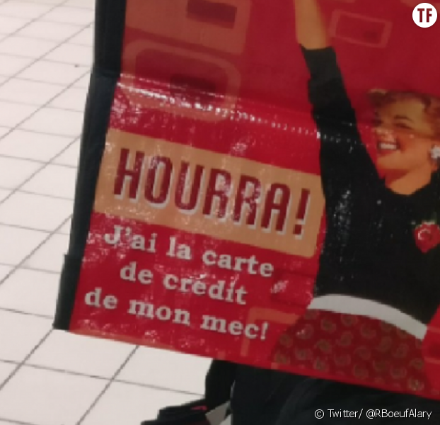 Super ! Auchan sort un sac de course sexiste