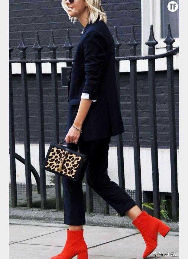 Bottines rouges, comment les porter ?