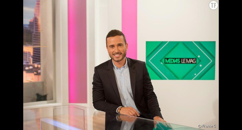Julien Bellver, chroniqueur médias de l'émission Quotidien