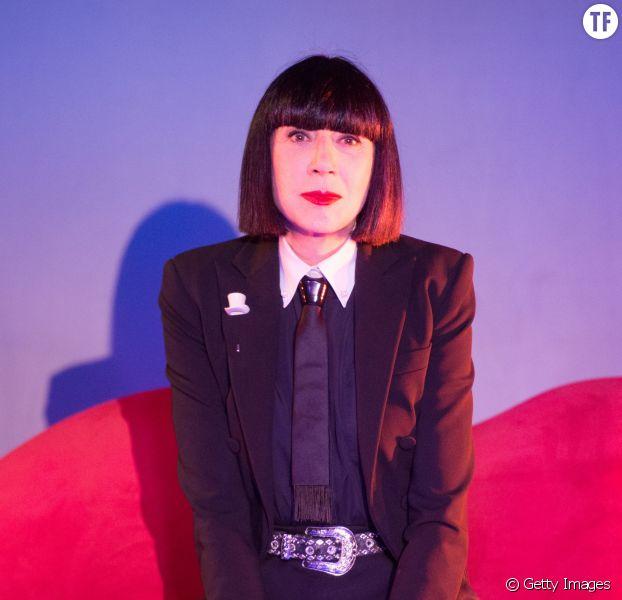 La créatrice de lingerie Chantal Thomass en 2016 au Crazy Horse