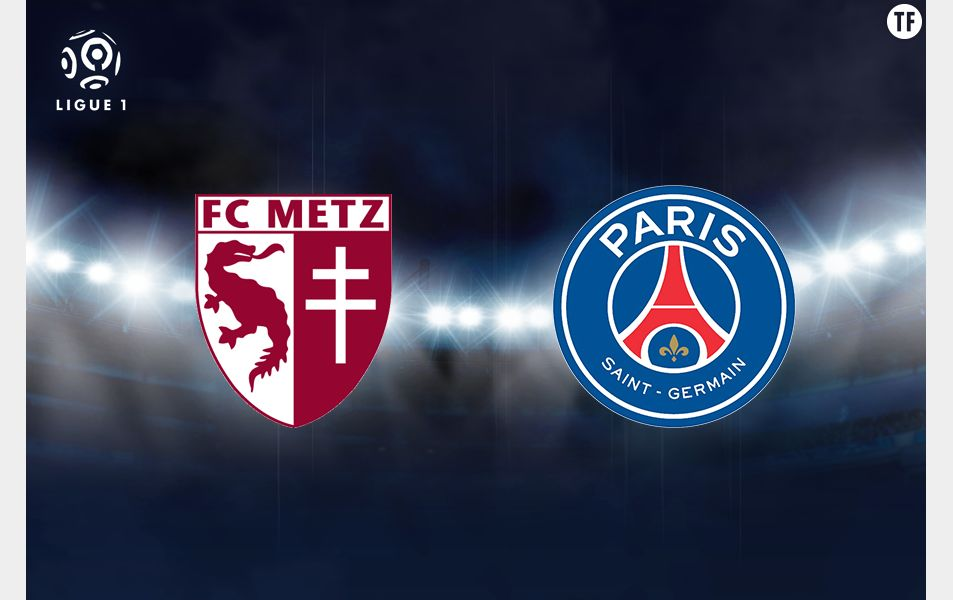 Match Metz-PSG Ligue 1