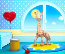 Sophie la girafe, héroïne d'une nouvelle websérie basée sur la méthode Montessori