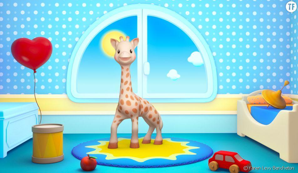 """L'interview de Karen Levy Bencheton, créatrice de la websérie """"Sophie la girafe"""""""