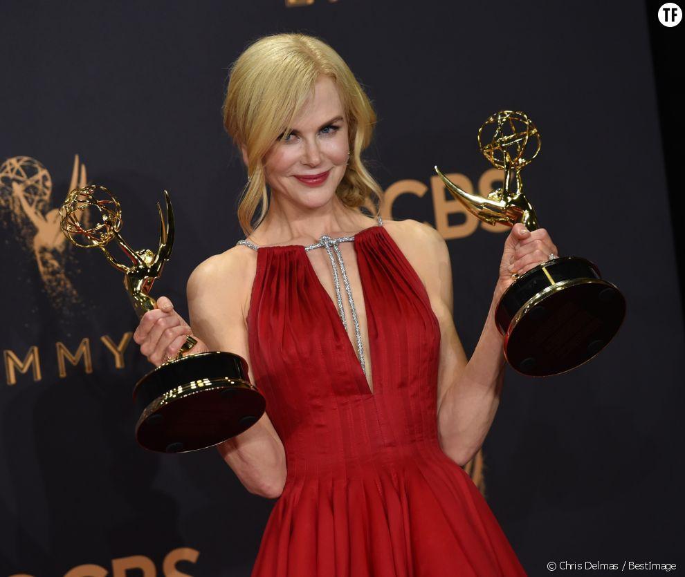 Nicole Kidman à la cérémonie des Emmy Awards, dimanche 17 septembre 2017 à Los Angeles