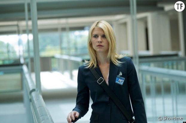 """Carrie Mathison (Claire Danes) dans la série """"Homeland"""""""