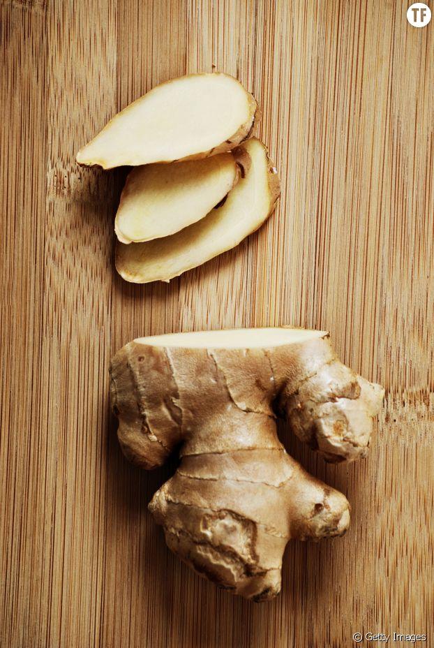 7- Misez sur le gingembre