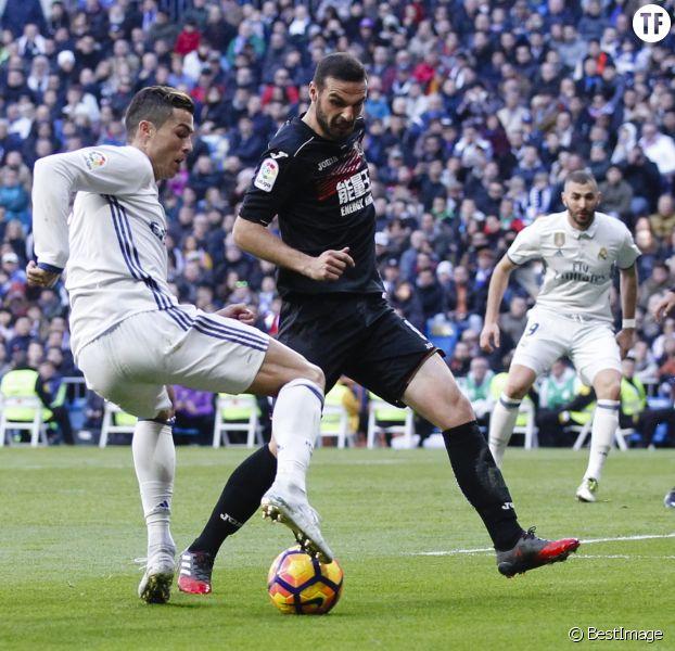 Cristiano Ronaldo et Gareth Bale lors du match de Champions League Real Madrid - Apoel Nicosie le 13 septembre 2017.