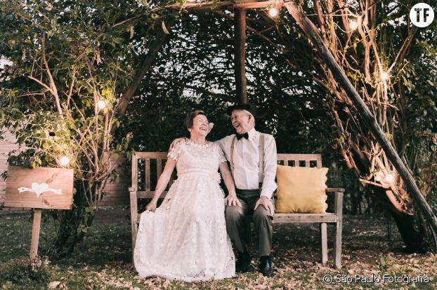 60 ans plus tard, ce couple s'aime comme au premier jour