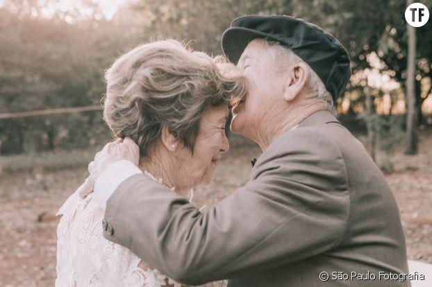 Une superbe relation immortalisée par des photographes
