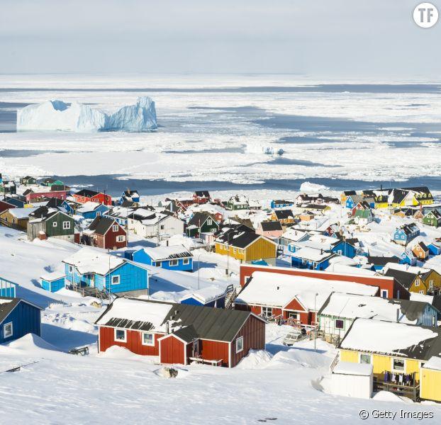 Le cote groenlandaise.
