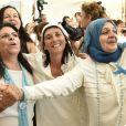 La marche pour la paix des Israéliennes et Palestiennes