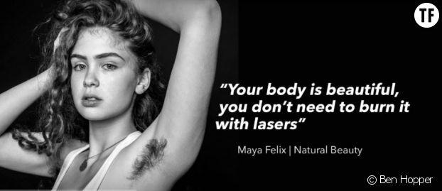 """""""Nature Beauty"""" : ces photos célèbrent le poil sous les bras"""