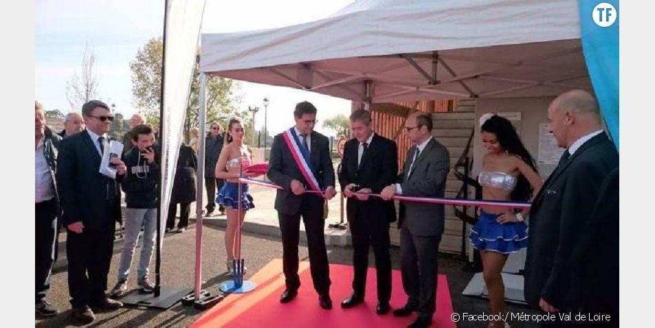 La cérémonie d'inauguration sexiste d'une station d'épuration de Tours fait polémique sur la toile