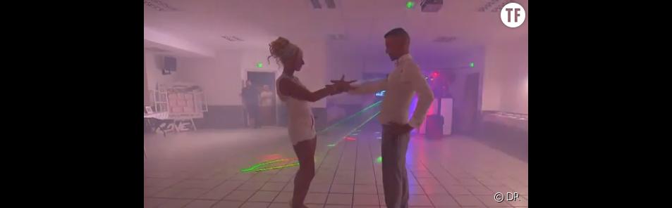 Laetitia et Philippe ouvrent le bal.
